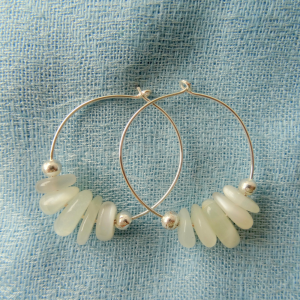Moonstone-hoop-earrings-by-CalicoRoseStudio-7e